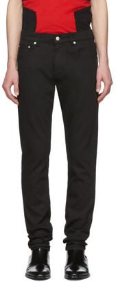 Alexander McQueen Black Dragon Jeans