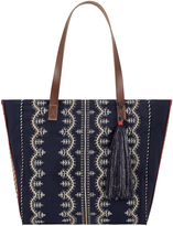 Accessorize Military Embroidered Tote Bag