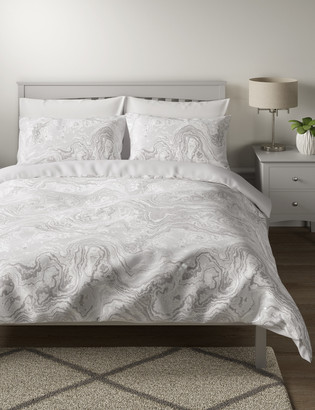 Marks and Spencer Cotton Mix Jacquard Bedding Set