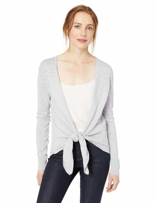 Daily Ritual Amazon Brand Women's Lightweight Tie-Front Cardigan