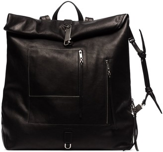 Rick Owens Monster leather backpack