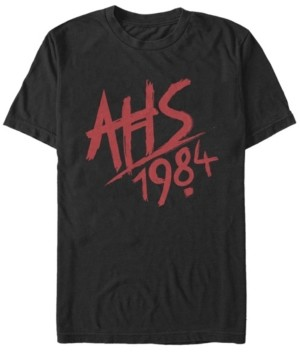 Fifth Sun Men's American Horror Story 1984 Logo T-shirt