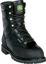 """John Deere Men's Boots 9"""" Insulated Waterproof Safety Toe Miners Boot"""