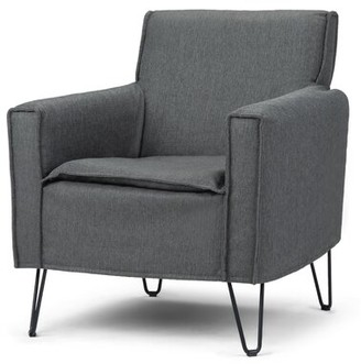 17 Stories Jeff Armchair Upholstery Color: Dark Taupe