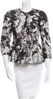 Dries Van Noten Floral Print Fitted Jacket w/ Tags