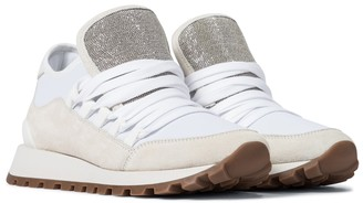 Brunello Cucinelli Exclusive to Mytheresa Suede sneakers
