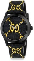 Gucci G-Timeless Rubber Strap Watch