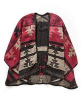 Fashion World Simply Be Red Aztec Blanket Wrap