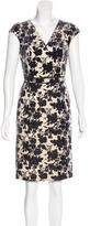 Tory Burch Devoré Sheath Dress