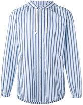Comme des Garcons striped lightweight jacket - men - Cotton - M