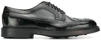 Doucal's brogue-style lace up shoes
