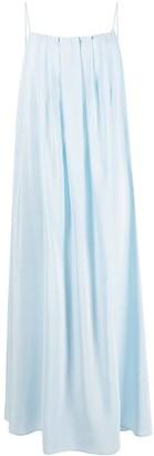 FEDERICA TOSI Silk Pleat Dress