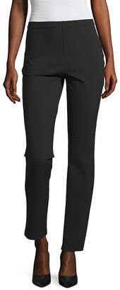 Liz Claiborne Studio Womens Straight Fit Ankle Pant