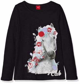 S'Oliver Girl's 53.808.31.8129 Longsleeve T-Shirt