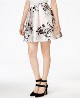 Amy Byer Juniors' Printed Skater Skirt