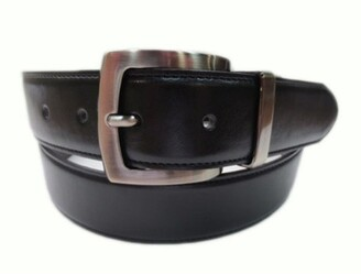 Bosca Reversible 35mm Stitched Edge Leather Belt