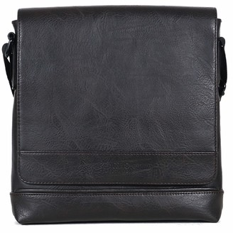 Kenneth Cole Reaction Unisex's Grand Central Casual Slim Crossbody Tablet Case Messenger Bag