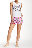 Hello Kitty White PJ Set