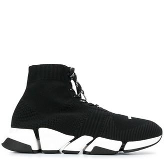 Balenciaga Lace-Up Sock Trainers