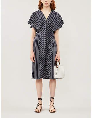 Ted Baker Flissie zip-front striped dress