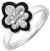 Simply Stacks Sterling Polished Fleur De Lis Ring
