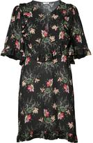Vilshenko floral print tunic dress - women - Silk - 6