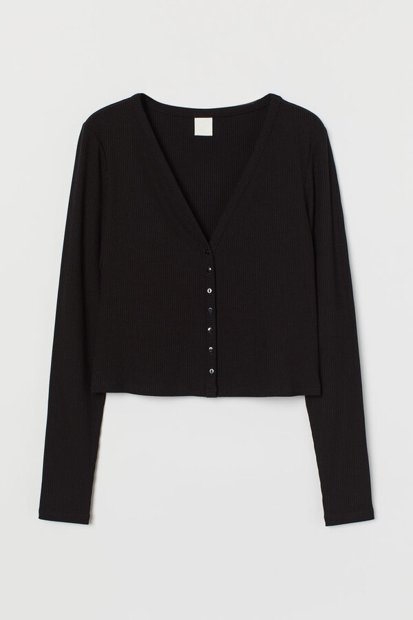 Thumbnail for your product : H&M Ribbed cardigan