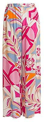 Emilio Pucci Women's Wide-Leg Trousers