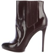 Brian Atwood Fragola Cap-Toe Ankle Boots