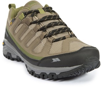 Trespass Carnegie Womens Low Rise Hiking Shoes Brown (Brindle/Sage) 8 UK (41 EU)