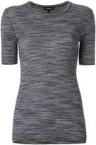 Theory ribbed fitted T-shirt