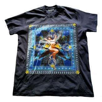 Givenchy Navy Cotton T-shirts