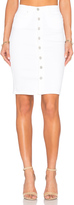 Blank NYC BLANKNYC Button Front Pencil Skirt
