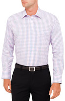 Van Heusen Grid Check Classic Fit Shirt