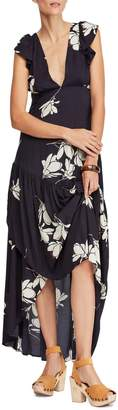 Free People She's a Waterfall High/Low Maxi Dress