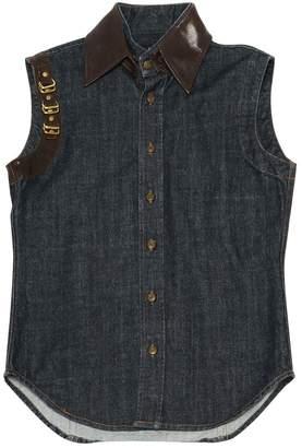 DSQUARED2 Blue Cotton Jackets