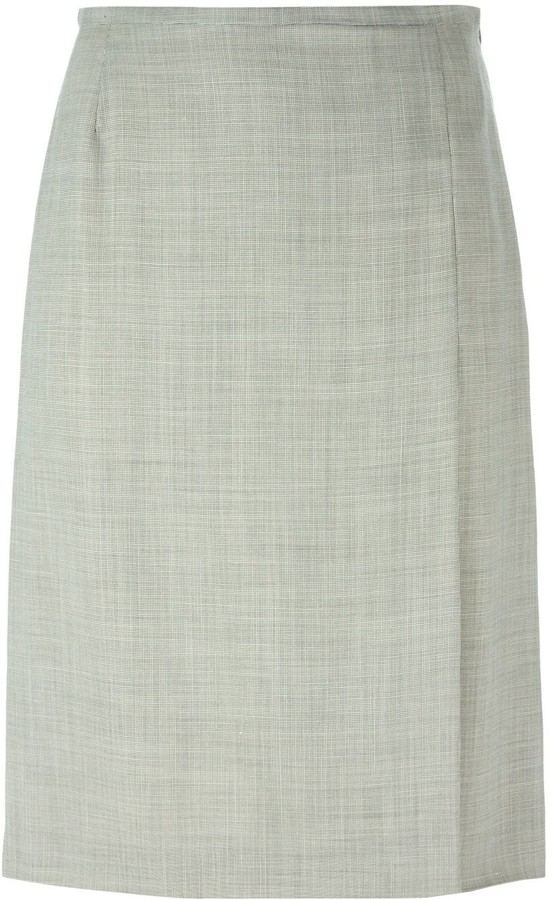 Thumbnail for your product : Jean Louis Scherrer Pre-Owned A-Line Skirt