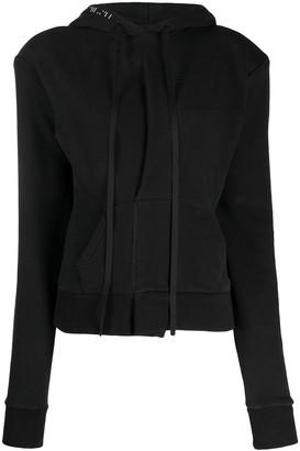 Unravel Project slim-fit hoodie