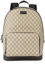 Gucci Gg Supreme Monogrammed Backpack
