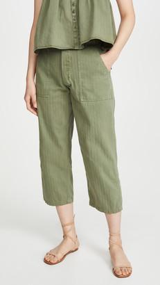 The Great The Herringbone Trooper Pants