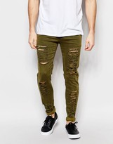 Other Uk Skinny Jeans With Distressing
