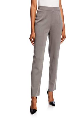 Misook Plus Size Straight-Leg Ankle Pants