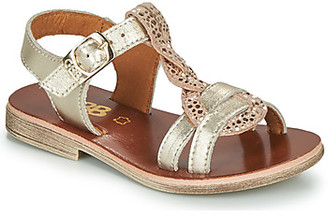 GBB EUGENA girls's Sandals in Gold