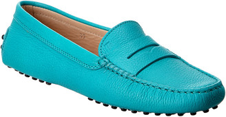 Tod's TodS Pebbled Leather Loafer