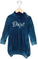 Diesel Girls' Logo Long Sleeve Dress w/ Tags