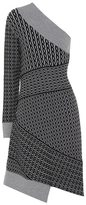 Burberry Cable-knit wool-blend dress