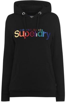 Superdry Rainbow Embroidered Hoodie