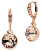 Givenchy Rose Goldplated Drop Earrings
