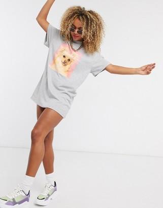 New Girl Order puppy t-shirt dress
