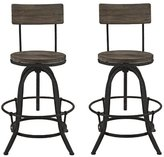Modway Procure Adjustable Height Swivel Bar Stool